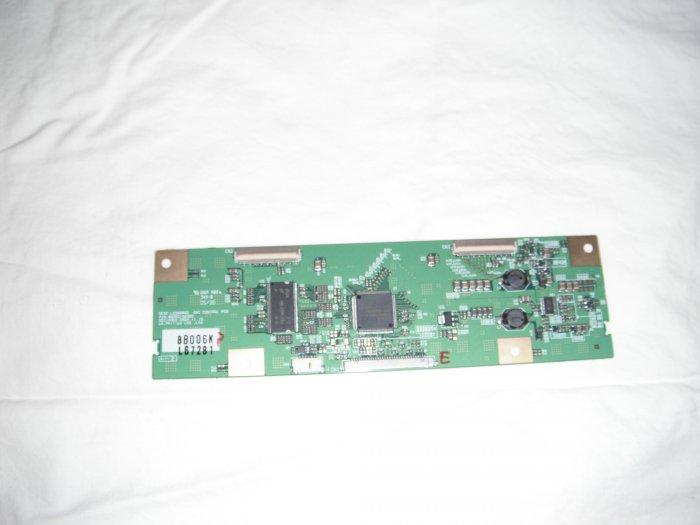 LG Philips 6871L-0672B T-Con Board