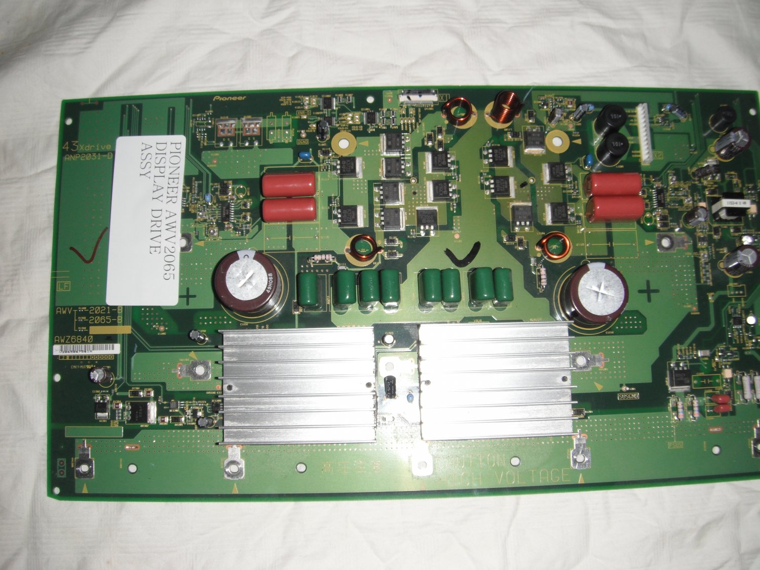 PIONEER AWV2065 DISPLAY DRIVE ASSY