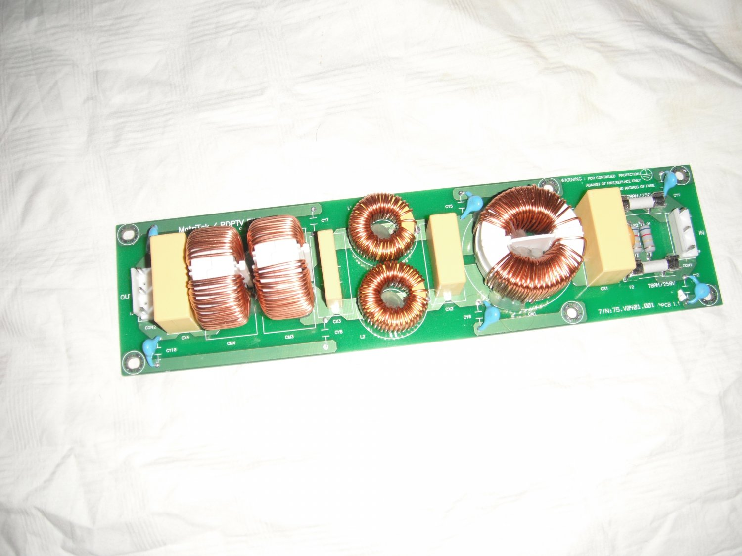 Akai BK10471A Power Filter Board