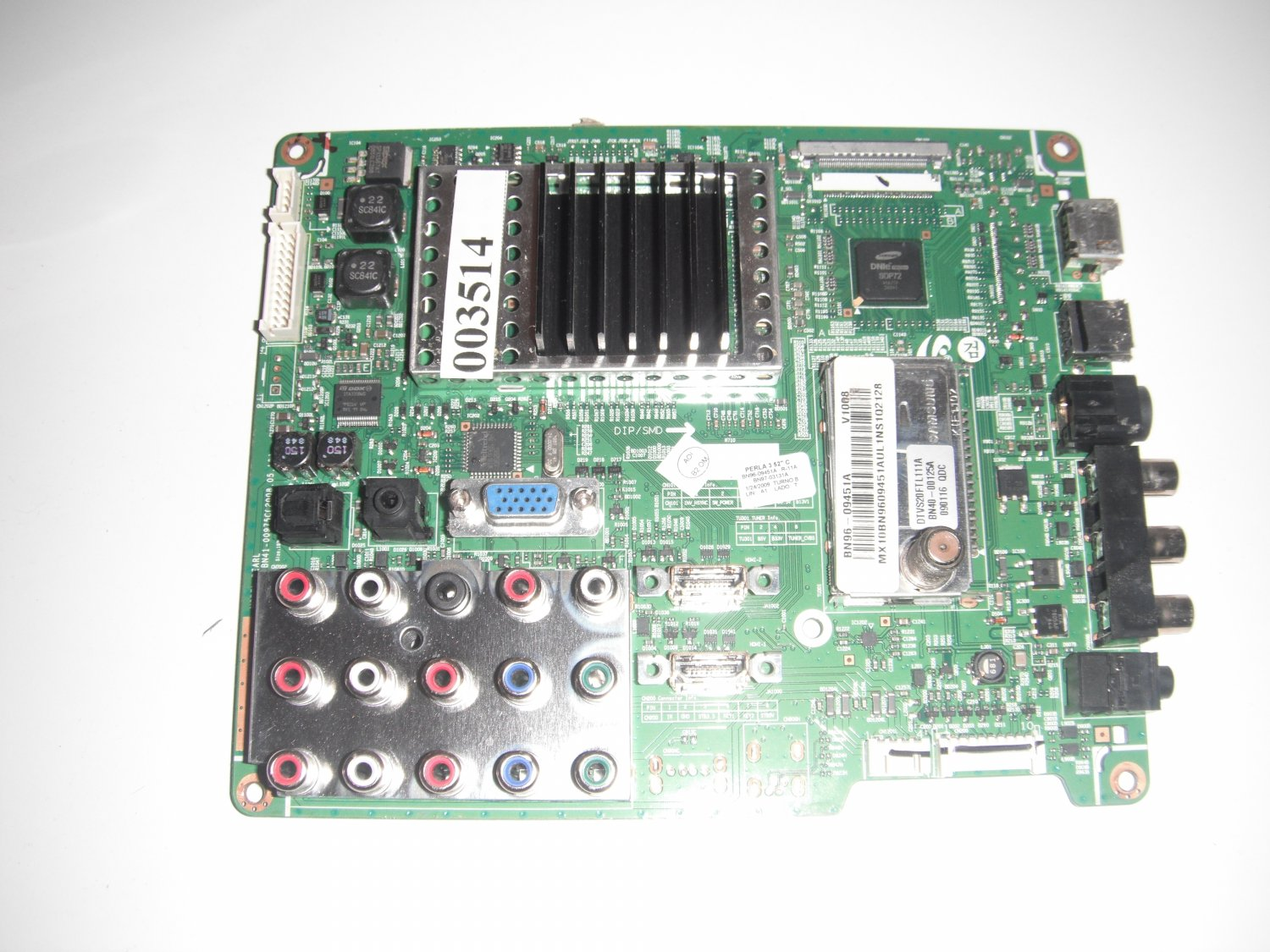 Samsung BN96-09451A Main Unit OF STOCK