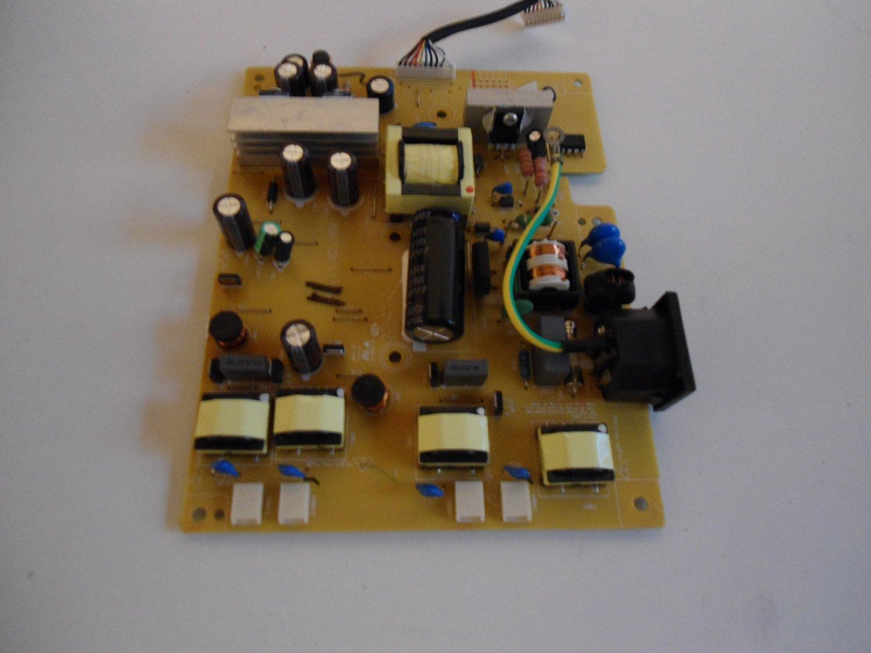 Disassemble BenQ FP91G + Q9T4 48.L1J02.A02 48.L1J02.A00 power board [