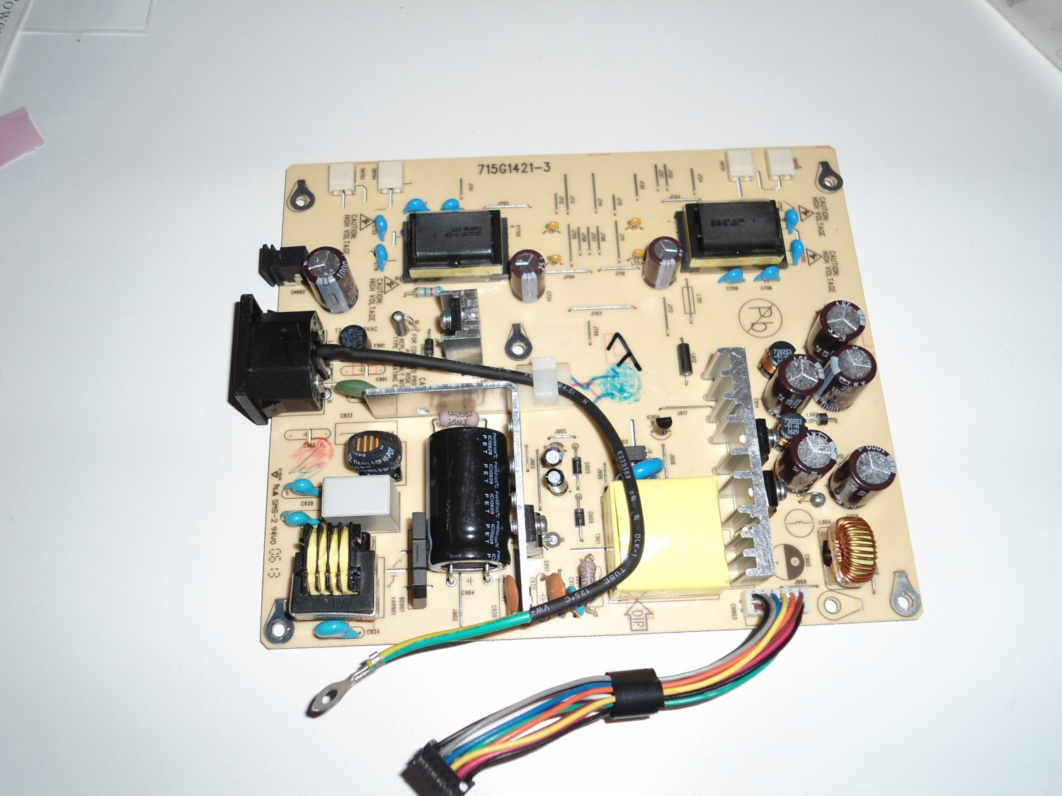 HP LCD power supply board 715G1421-3 high-voltage power supply board board board