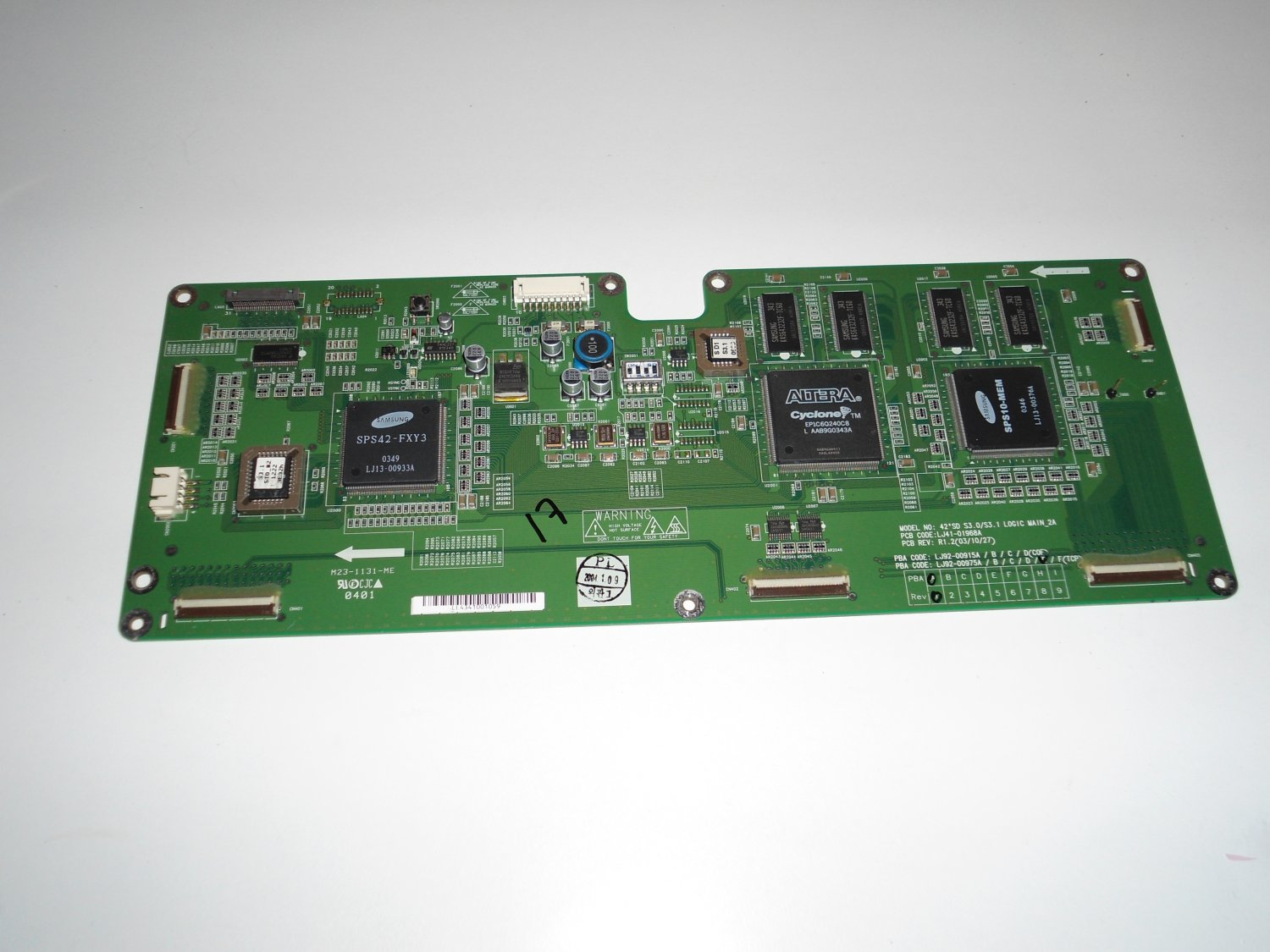JVC LJ92-00975A 42 SD S3.0/S3.1 Logic Main 2A