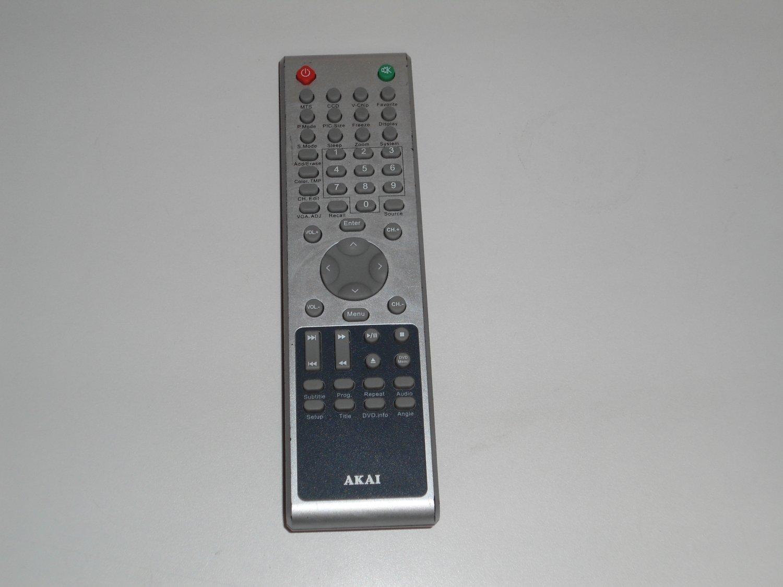 AKAI E7501060001 TV REMOTE CONTROL