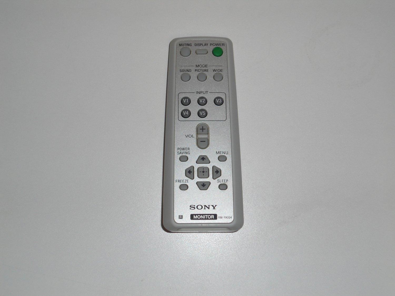 SONY RM-YA004 RMYA004 -147966911 REMOTE CONTROL