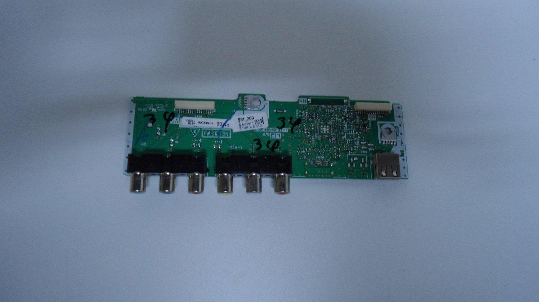 Sharp DUNTKE209FM02H Side AV Board
