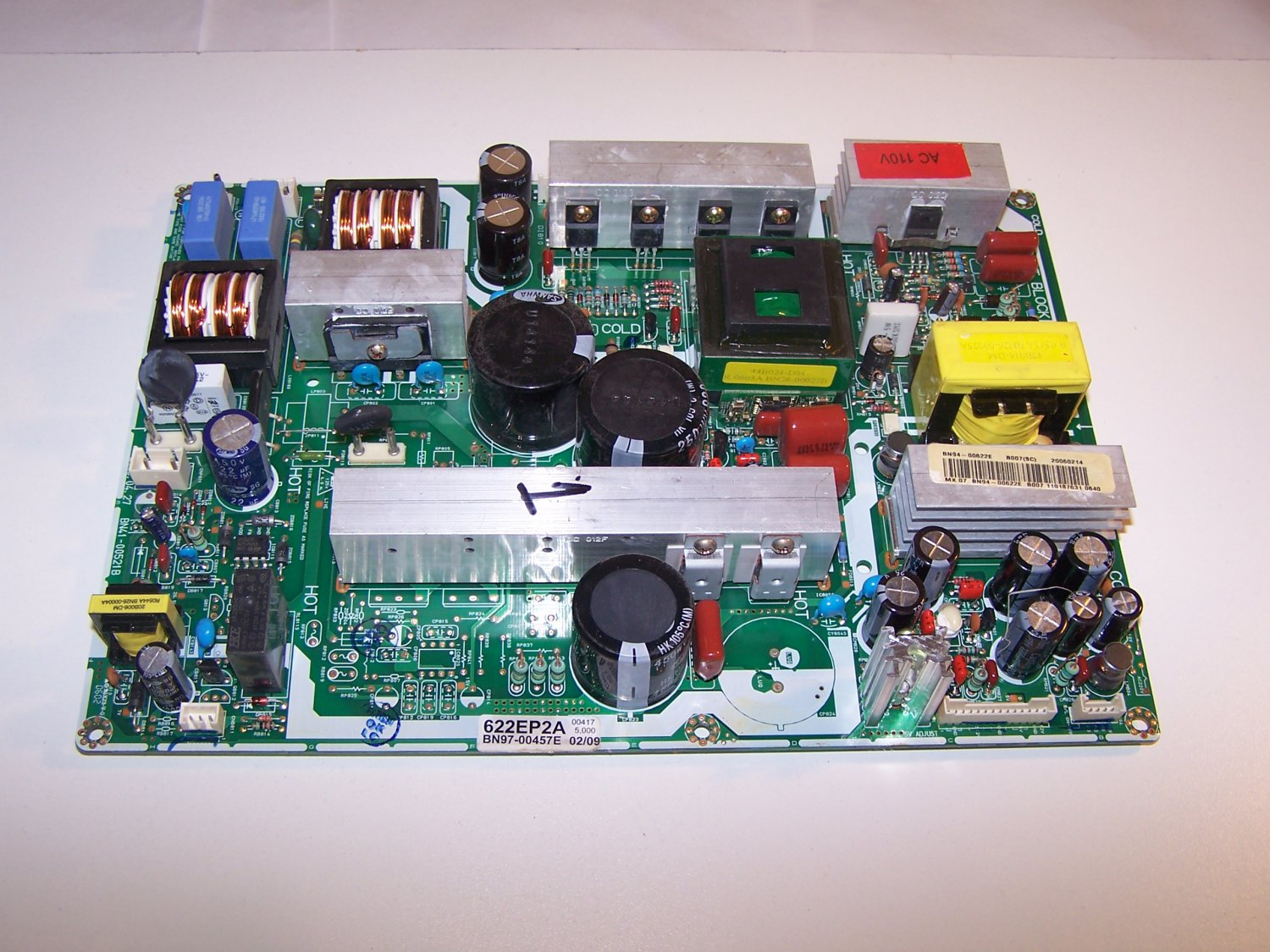 SAMSUNG LN-R408D POWER SUPPLY Model BN97-00457E SOLD OUT