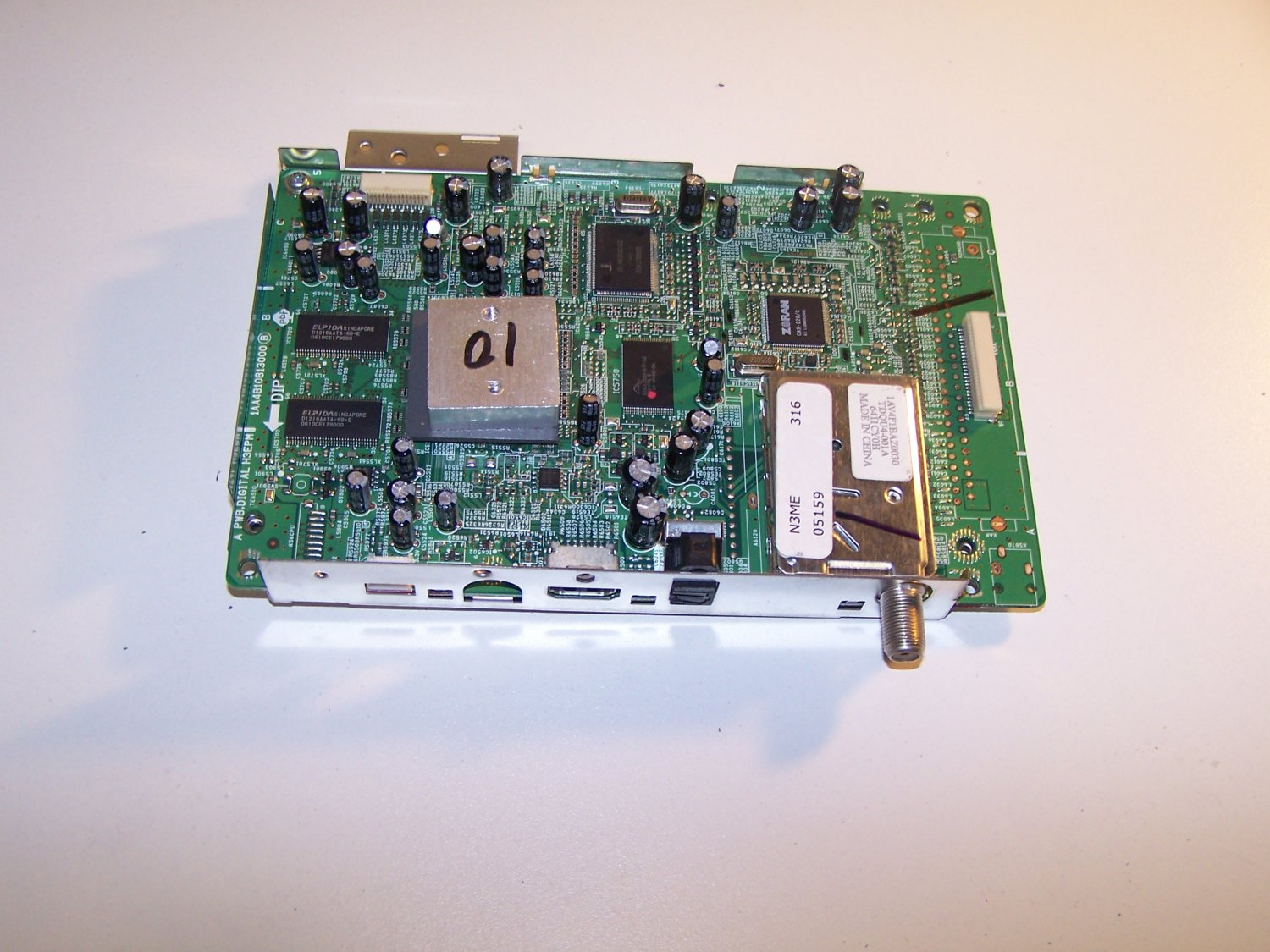 Sanyo 1AA4B10B13000 N3ME Digital Tuner Board for P26746-00