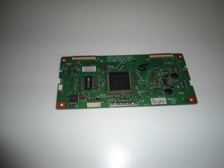 LG Philips 6871L-0819A T-Con Board