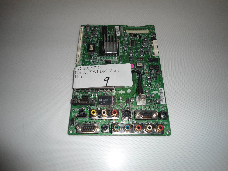 LG 20LS7D-UB.AUSWLBM Main Unit
