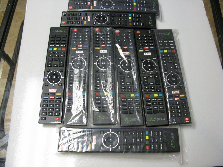 New SEIKI Replacement TV REMOTE CONTROL for Seiki SE43FKT Smart TV