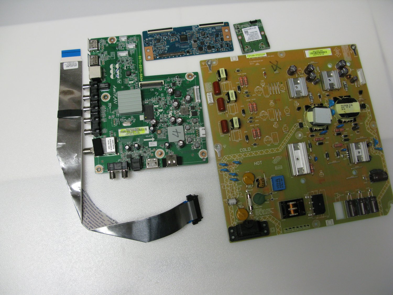 Sharp LC-43LE653U Complete TV Repair Kit