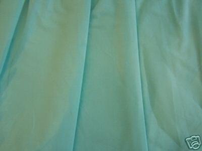 aqua blue cornflower bed skirt dust ruffle