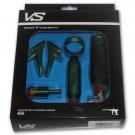 XP7916A-BKG  Kingman Spyder VS2 VS3 RS RSX Electronic Paintball Gun Galaxy GREEN Body Kit Set