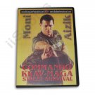 VD6074A Israeli Commando Krav Maga Street Survival Training DVD Moni Aizik RS-0464 martial arts