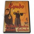 VD7034A  Kyudo Japanese Archery Kyu Jitsu Jordan DVD Ashibumi Dozukuri Uchiokoshi Hanare