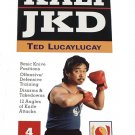 VL4001A-DVD  Ted Lucaylucay Filipino Kali Escrima Arnis Jeet Kune Do Training DVD #4 blades