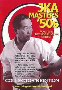 VD6036A  JKA Karate Masters 50s Kumite DVD shotokan Nakayama Nishiyama Kanazawa Enoeda