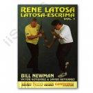 VD6072A  Rene Latosa Filipino Martial Arts Escrima Kali Stick Fighting #1 DVD Newman RS-0463