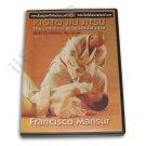 VD6077A  Kioto Brazilian Jiu Jitsu Defense Weapons Blades Basics #1 DVD Mansur M-0141