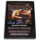 VD6102A  Hard Shooto NHB MMA Grappling Fighting Women Bad Breed Magazine #3 DVD New!