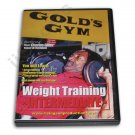 VD6170A  Weight Strength Training Gold's Gym #2 DVD Charles Glass bodybuilding new