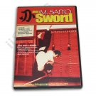 VD6500A  Ueshiba Aikido Morihiro Saito Samurai Sword DVD techniques #51D iaido 30min