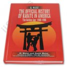 BU5590A  Official History of Karate Hardcover Book Al Weiss martial arts