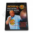 VD7014A  Mastering Boxing Combinations MMA Punching Bag Foot Work DVD Ray Mercer RS 0656