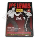 VD6774A  Joe Lewis Contact Karate Fighting Critique Sparring DVD karate kung fu new