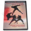 VD6892A  Koga Ryu Ninja Weapons DVD Juan Hombre ninjitsu throwing stars shuriken spy