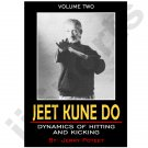 VT0621A-DVD  Jerry Poteet JKD #2 Dynamics of Hitting DVD Bruce Lee boxing inverted kick