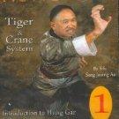 VD7043A Hung Gar Kung Fu Tiger Crane Kung Fu #1 Au DVD stances punches kicks
