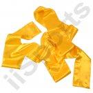UC9000A-YEL Yellow Chinese Kung Fu Pa Kua Wing Chun Tai Chi Martial Arts Satin Sash Belt gung