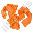UC9000A-ORN Orange Chinese Kung Fu Pa Kua Wing Chun Tai Chi Martial Arts Satin Sash Belt gung