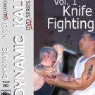 VT1111A-DVD Barry Cuda Dynamic Kali 1 Knife Fighting DVD jeet kune do filipino escrima arnis