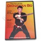 VD6838A Art Okinawan Kobudo Bo Staff Training DVD Bill Adams RS68 martial arts karate