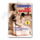 VD6846A Tsukamoto's Judo & Self Defense Knife punch chokes DVD Hal Sharp Bushido RS153