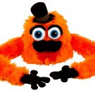 YK0014A-ORG Hugalopes Fuzzy Hat Puppet Monster Mr Mustache ORANGE funny Mix Match Parts unisex cap
