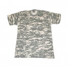 AT0124A  PCS ACU Digital Camouflage Tee short sleeve cotton T-Shirt adult LARGE NEW!