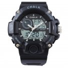 AW0100A-BK CHALK Velocity Carbon V Extreme Sports Watch -BLACK paintball mma bjj 52mm