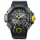 AW0100A-YE CHALK Velocity Lutescent V Sports Watch YELLOW paintball mma bjj 52mm
