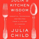 Z0421 Julia Child's Kitchen Wisdom Book french chef cooking pbs tv
