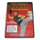VD6847A  Savate French Foot Fighting kickboxing block kicks DVD Lester Griffins RS63