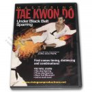 VD6745A  Mastering Tae Kwon Do UNDER Black Belt Sparring DVD 1 3 step taekwondo karate