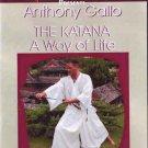 VD6896A Katana Way of Life Samurai Sword DVD Gallo iaido bokken