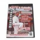 VD6975A  Okinawan Shorin Ryu Karate Kobudo Legends #18 DVD Eihachi Ota RS0624 RARE!