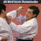 VD7058A Kanazawa's 6th World Karate Championships DVD japanese shotokan iska
