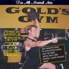 VD7079A Martial Arts Fitness Flexibility Training Karl List 2 DVD Set Golds Gym