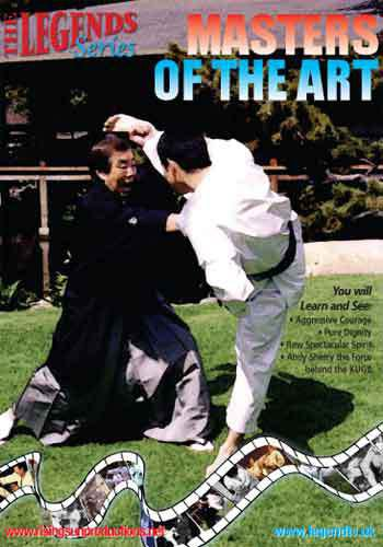 VD7105A European Masters of Art DVD Karate Union of Great Britain KUGB martial arts